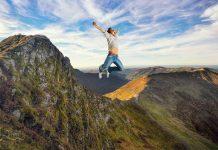 L.es RadCow prévoient un saut du Puy Mary