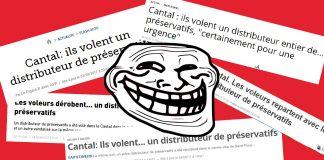 Distributeur de préservatifs volé… la presse tombe dans le panneau !