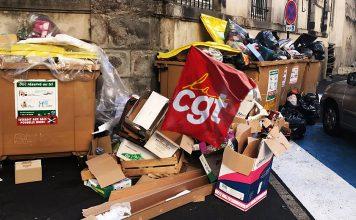 Les éboueurs reprennent la grève pour assister au festival d'Aurillac.