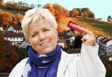 Mimie Mathie à la Rainbow Run de Boisset dans le Cantal