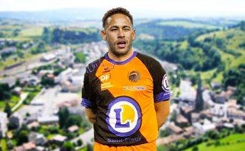 Neymar signe à l'US Saint-Flour