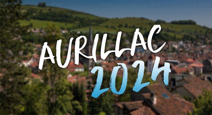 Aurillac 2024 JO Jeux Olympiques logo
