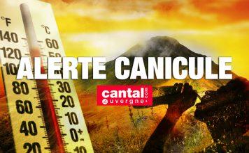 Alerte canicule : pic de chaleur exceptionnel dans le Cantal