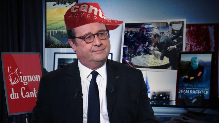 François Hollande interview à l'oignon du Cantal : l'ancien Président revient sur sa chute dans un plat de truffade au stand Cantal