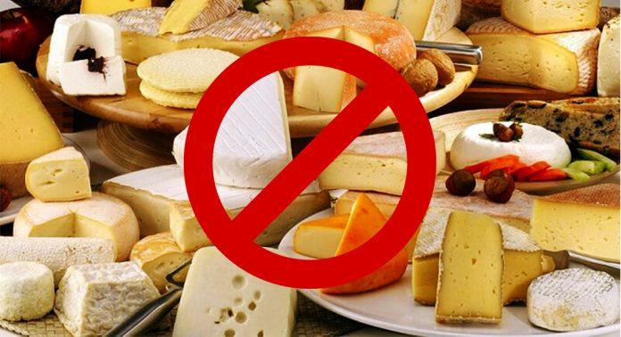 Le Cantal interdit tous les fromages issus de l'exportation