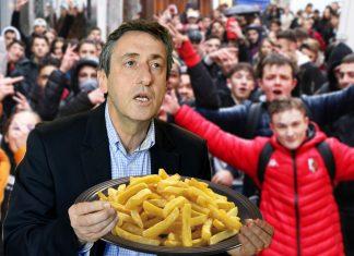Manifs lycéennes : le maire d'Aurillac débloque un fond d'urgence de 250kg de frites à la cantine